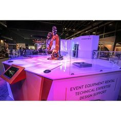 """""""Protec's latest technology investment in Notch - a real-time visual effects software created by 10bit Technologies, was introduced to the region's live event industry at the recently held Middle East Event Show 2017. The first company in the region to in"""