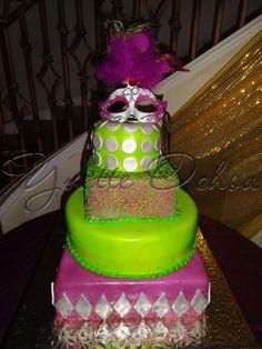 Pastel XV años en Mexicali F#1.308 / Sweet 16 cake