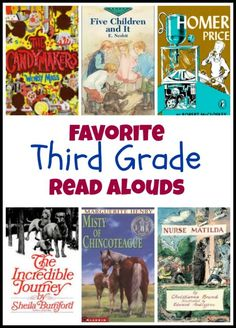 Second grade read aloud books