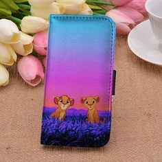 Nala and Simba The Lion King | Movie | Disney | custom wallet case for iphone 4/4s 5 5s 5c 6 6plus case and samsung galaxy s3 s4 s5 s6 case - RSBLVD