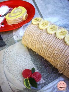 Happiness is Homemade: Omiljena rolada s bananama Kolaci I Torte, Happy Kitchen, Happiness, Homemade, Cakes, Bonheur, Food Cakes, Being Happy, Hand Made