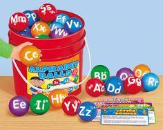 Alphabet Activity Balls