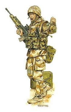 Royal Scots Gulf War pin by Paolo Marzioli Military Post, Army Post, Military History, British Army Uniform, British Soldier, Commonwealth, Historia Universal, Military Drawings, British Armed Forces
