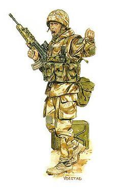 Royal Scots Gulf War 1991