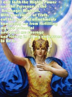 Archangel Michael For courage and victory over attachments