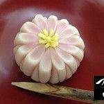 「御園菊」鶴屋吉信製 菊は不老長寿の象徴ですね。