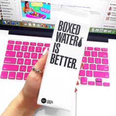 """AlishaMarie on Twitter: """"cause boxed water is better ♡ https://t ..."""