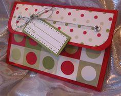 PAPER SMILES: Easy Gift Card Holder