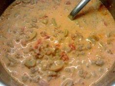 Tomaten-Käse Suppe, super lecker für jede Party oder auch auch als normales Familienessen total genial, weil es so schnell geht