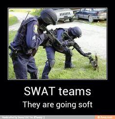 Funny swat team