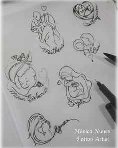61 ideas tattoo ideas for kids names for moms sons tatoo Mommy Tattoos, Mutterschaft Tattoos, Motherhood Tattoos, Tattoo Mama, Tattoo For Son, Baby Tattoos, Family Tattoos, Tattoos For Kids, Tattoos For Daughters
