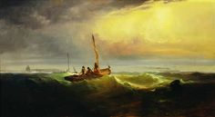 Buy online, view images and see past prices for EDWARD MORAN American Invaluable is the world's largest marketplace for art, antiques, and collectibles. A4 Poster, Poster Prints, Vintage Artwork, Gravure, Oil On Canvas, Sailing, 19th Century, Fine Art, American