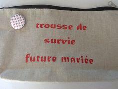 Trousse kit de survie future mariée : Trousses par…