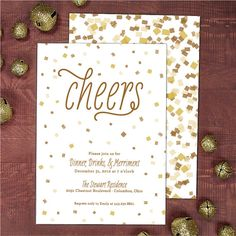 New Year's Eve Party Invitation by Banter & Charm