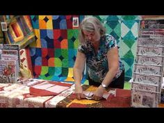 Sewing Block Quilts This really does take about 10 minutes per block. I'm making a charity quilt this way this week using up a bunch of charm squares. 10 Minute Block from Design Orignals. Quilting Tips, Quilting Tutorials, Quilting Projects, Quilting Designs, Sewing Tutorials, Hand Quilting, Sewing Ideas, Patch Quilt, Quilt Block Patterns