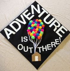 (100+) graduation cap | Tumblr (this is such a cute idea for a cap!)