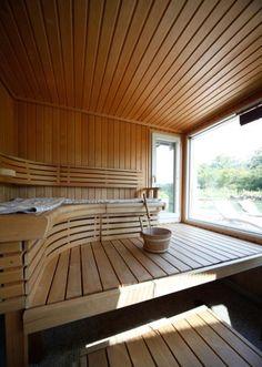 Tule tänne löylyihin! Saunas, Sauna Design, Finnish Sauna, Sauna Room, Arch Interior, Best Cleaning Products, Laundry In Bathroom, Extra Seating, Jacuzzi