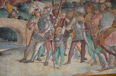 ANTONIAZZO ROMANO E BOTTEGA Storie della Vera Croce, 1492-1495 c. Basilica di S. Croce in Gerusalemme (Roma); catino absidale