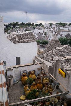 A view of Alberobello