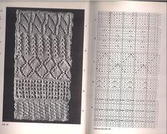 De breirol die in het boek 'De Techniek van het Kunstbreien - kanten & patronen' ISBN 9021309106  van Henriëtte van der Klift - Tellegen staat, waarschijnlijk gemaakt door de moeder van mevrouw G Visser - Groot (het dankwoord is hier niet heel duidelijk in).  Dit zijn de vierde (5) patroontjes (van 25).  Schatting datering: begin 19de eeuw