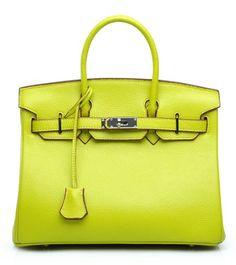 Bagroo 100% Genuine Leather Handbag Padlock Handbags Satchel Padlock Tote Purse (Big--35cm, Apple green)