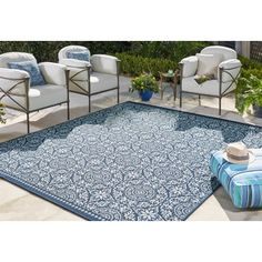 Shop for Mohawk Home Oasis Bundoran Indoor/Outdoor Area Rug (8'x10'). Get free shipping at Overstock.com - Your Online Home Decor Outlet Store! Get 5% in rewards with Club O!