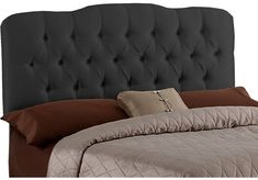 Shop for a Althea Black King Headboard at Rooms To Go. Find Headboards that will look great in your home and complement the rest of your furniture.