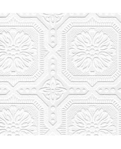 Graham & Brown Paintable x Damask Embossed Wallpaper Roll Vinyl Wallpaper, Look Wallpaper, Paintable Wallpaper, Brick Wallpaper Roll, Damask Wallpaper, Embossed Wallpaper, Wallpaper Panels, Geometric Wallpaper, Textured Wallpaper