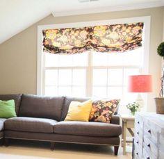 Custom Roman Shades, Valance Curtains, Home Decor, Decoration Home, Room Decor, Valence Curtains, Interior Decorating
