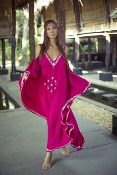 Avalon - A non-traditional caftan with a unique pattern exposing the shoulders. Shop for it online: http://www.royal-gypsy.com/#!product/prd1/902839174/avalon