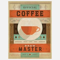 I liked this design on #Fab. Coffee Brew Master