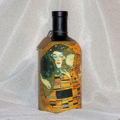 Darčeková fľaša Klimt čierny