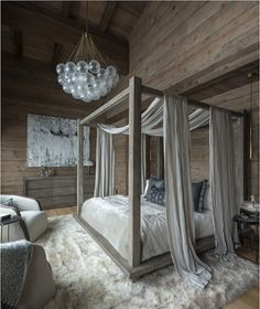 50 Magical DIY Bed Canopy Ideas Will Make You Sleep Romantic Fascinating wood canopy bed frame queen Wood Canopy Bed, Bed Frame And Headboard, Platform Canopy Bed, Canopy Bed Curtains, Canopy Bedroom, Diy Bed Frame, Bed With Canopy, A Frame Bedroom, Wood Bed Frames