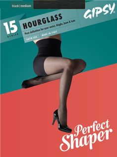 7a746a25f1faf Gipsy 15 Denier Hour Glass Tights Tights Uk, Opaque Tights, Hourglass  Shape, Ankle