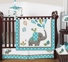 Baby crib comforter sets baby boy elephant crib bedding mod elephant baby bedding boy or girl crib set by sweet baby boy elephant crib bedding baby crib Elephant Crib Bedding Set, Girl Crib Bedding Sets, Girl Cribs, Crib Sets, Baby Cribs, Blue Bedding, Comforter Sets, Girl Nursery, Nursery Ideas