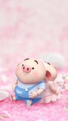 Get Good Looking Aesthetic Pink wallpaper for iPhone XS Pig Wallpaper, Pink Wallpaper Iphone, Animal Wallpaper, This Little Piggy, Little Pigs, Cute Piglets, Pig Illustration, Pig Art, Mini Pigs