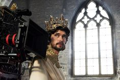 "Behind the scenes on ""Richard II"""