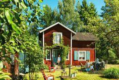 #Keltainen talo rannalla: Mökkielämää