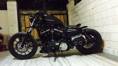 Iron 883 bobber