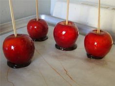 red candy apple recipe,