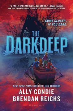 The Darkdeep (The Darkdeep #1) by Ally Condie and Brendan Reichs @AllyCondie @BrendanReichs @bloomsburykids #bookreview #horror #middlegrade #SurviveTheDarkdeep – Carries Book Reviews