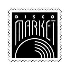 DISCO MARKET / Diseñador: Julian Naranjo - Patricio Rivera Ciappa / Oficina: corporate design / Año: 1989