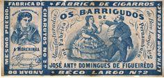 Cigarros Os barrigudos, Recife anos 1860
