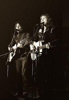 Byrds Gene Clark & Roger McGuinn