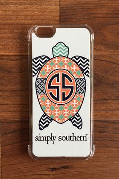 Simply Southern Turtle iPhone Case