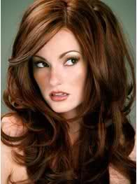 My next color!  Going back to the reddish brown with subtle highlights!