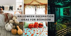 Halloween Living Room, Halloween Bedroom, Bright Colored Furniture, Colorful Furniture, 50 Diy Halloween Decorations, Outdoor Decorations, Diy Swing, Barrel Furniture, Porch Decorating