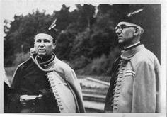 Jan Zelenka Hajský (right) as Head of Sokol organization in Haj near Duchcov