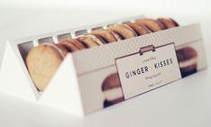 Ginger Kisses Packaging Re-design by Veronica Cordero, via Behance