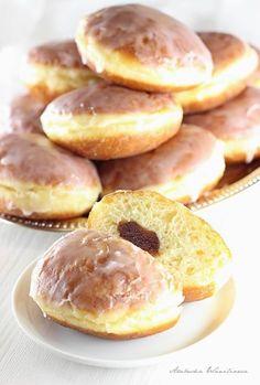 , zestawić z ognia, dodać kilka Doughnut, Donuts, Hamburger, Breakfast Recipes, Brunch, Bread, Muffin, Baking, Desserts